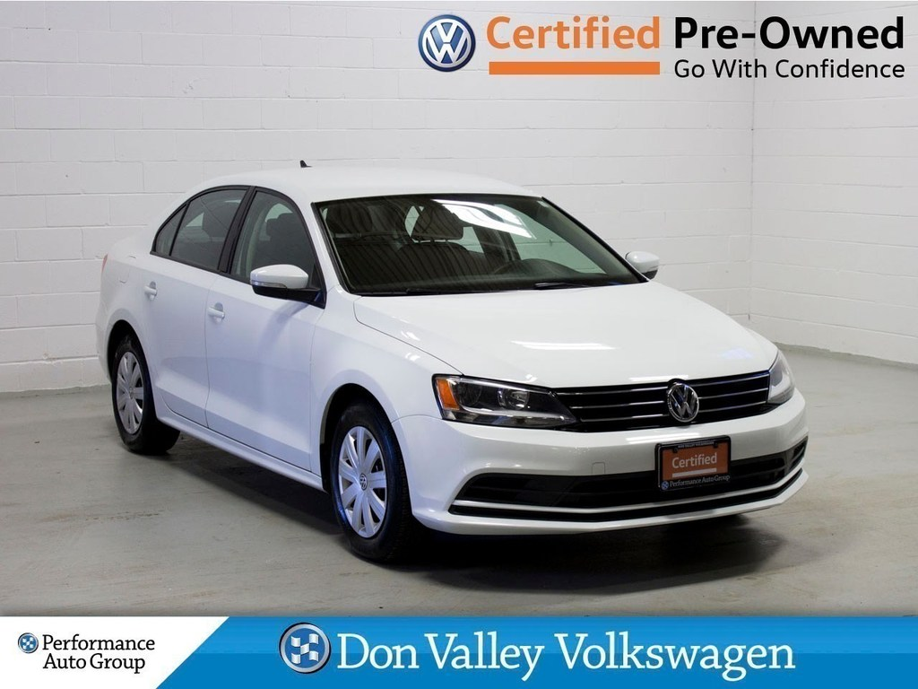 Certified Pre-Owned 2015 Volkswagen Jetta 2.0L Trendline+ Bluetooth Cam Heated seats