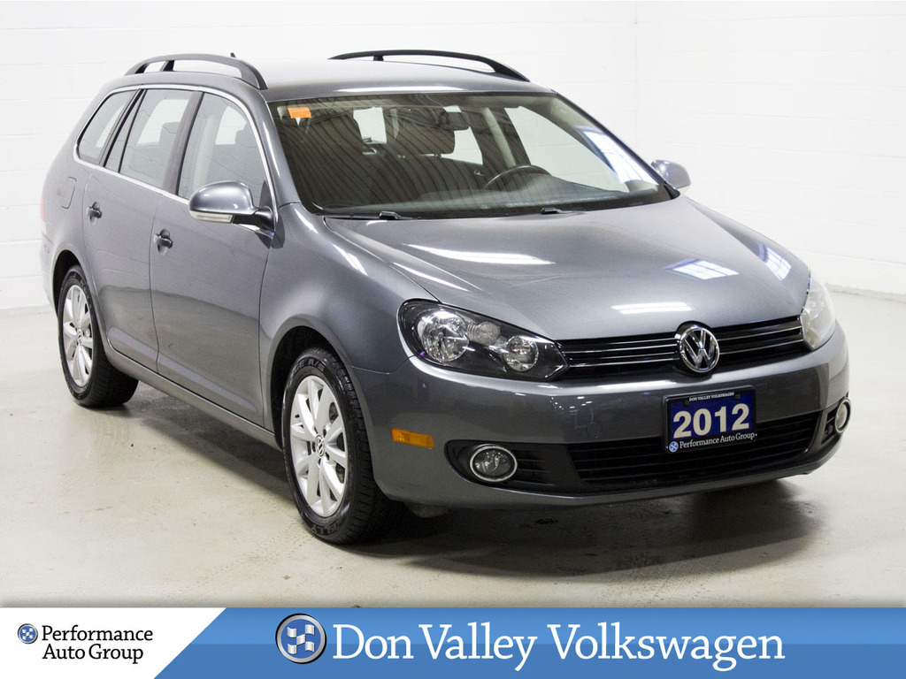 Pre-Owned 2012 Volkswagen Golf Wagon 4dr TDI Man Comfortline BLUETOOTH LOW KM!