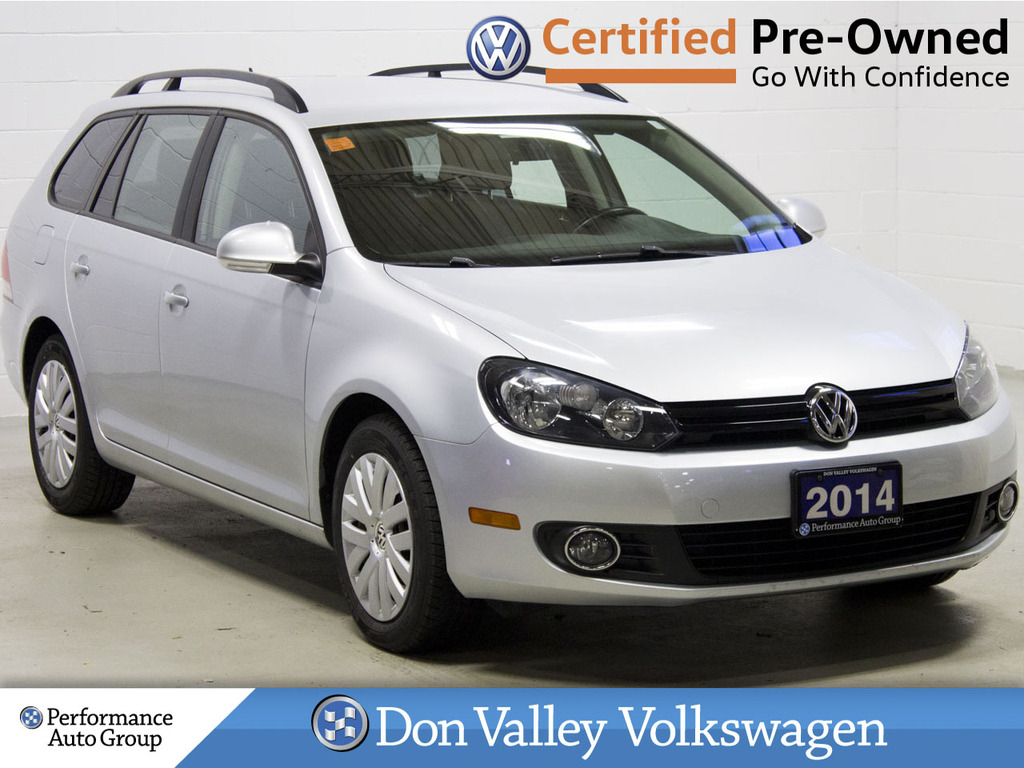 Certified Pre-Owned 2014 Volkswagen Golf Wagon 4dr TDI DSG Trendline BLUETOOTH LOW KM!