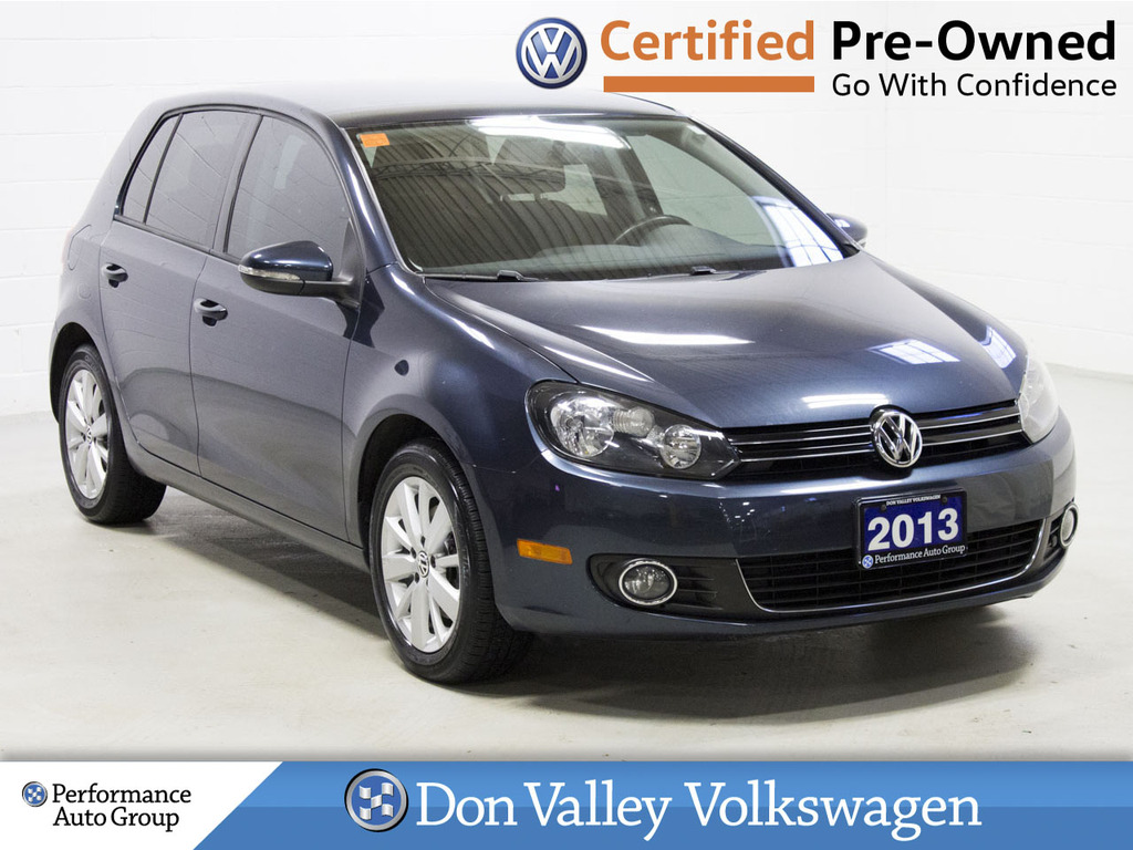 Certified Pre-Owned 2013 Volkswagen Golf 5dr HB DSG TDI Comfortline LOW KM BLUETOOTH