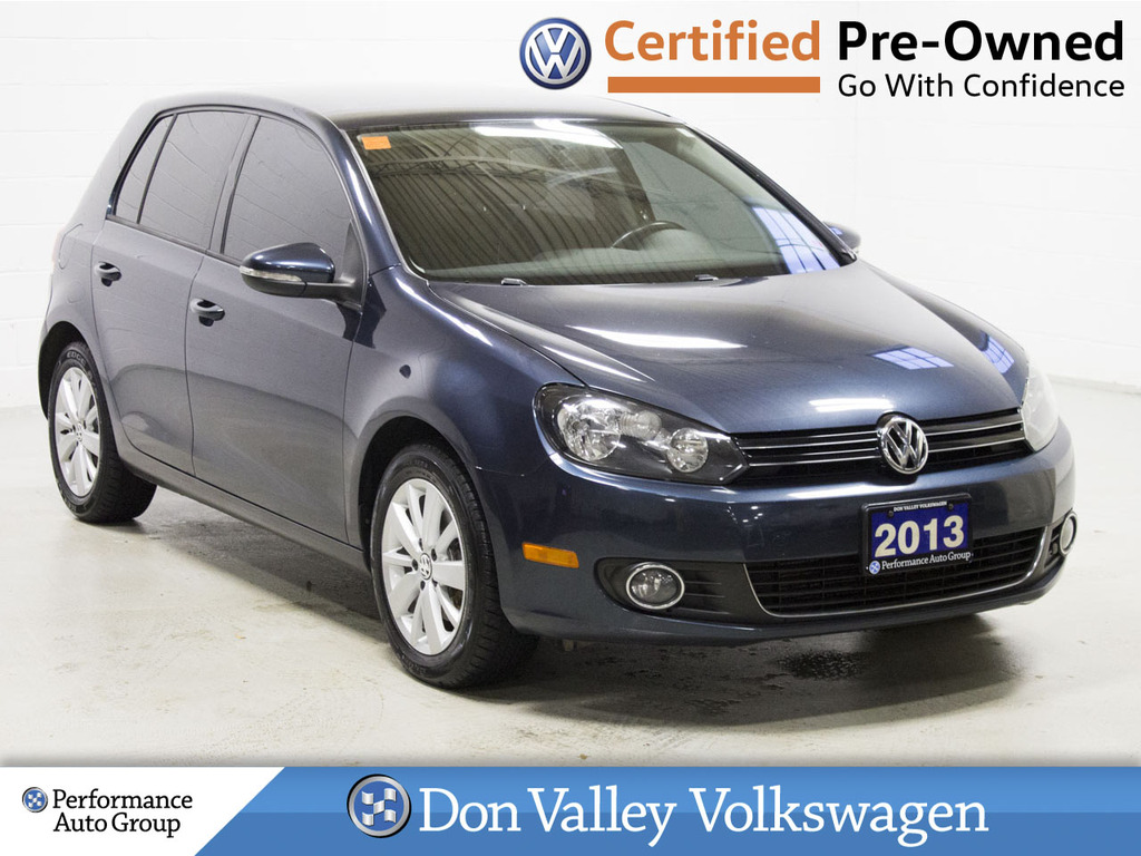 Certified Pre-Owned 2013 Volkswagen Golf 5dr HB DSG TDI Comfortline BLUETOOTH LOW KM!!!