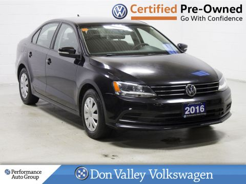 Certified Pre-Owned 2016 Volkswagen Jetta Sedan
