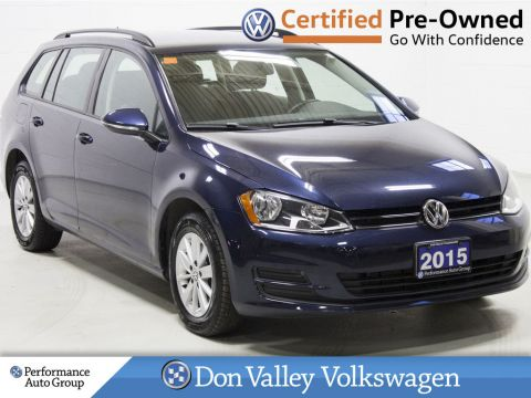 Certified Pre-Owned 2015 Volkswagen Golf SportWagen