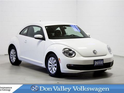Certified Pre-Owned 2014 Volkswagen Beetle