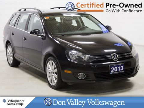Certified Pre-Owned 2013 Volkswagen Golf Wagon