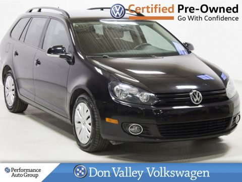 Certified Pre-Owned 2014 Volkswagen Golf Wagon